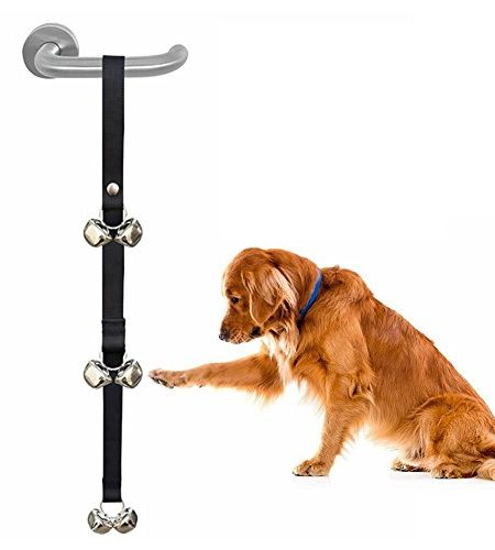 ADOGO Toilet Training Bells,Adjustable Potty Bells / Dog Doorbell