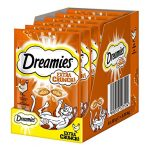 Dreamies Katzensnack Extra Crunch, 6er Pack (6 x 60 g)