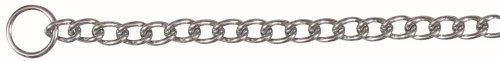 TX-2191 Choke Chain, Single Row, Chromed 50cm/4mm
