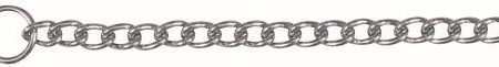 TX-2192 Choke Chain, Single Row, Chromed 55cm/4mm