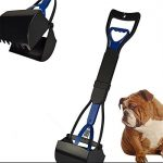 neestudy Hund Pet Kiefer Poop Scoop reinigen Pick Up Ablaufgarnitur 24 blau Farbe