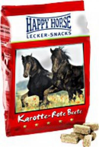 Happy Horse Lecker Snack Karotte Rote Beete 1 kg