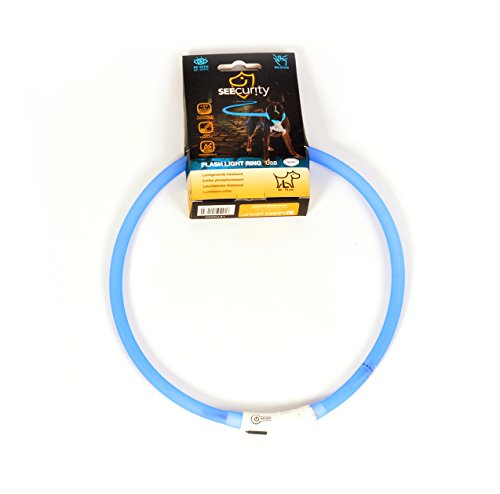 DUVO+ 1270005 Ring Flash Leuchtring USB Silicone, blau