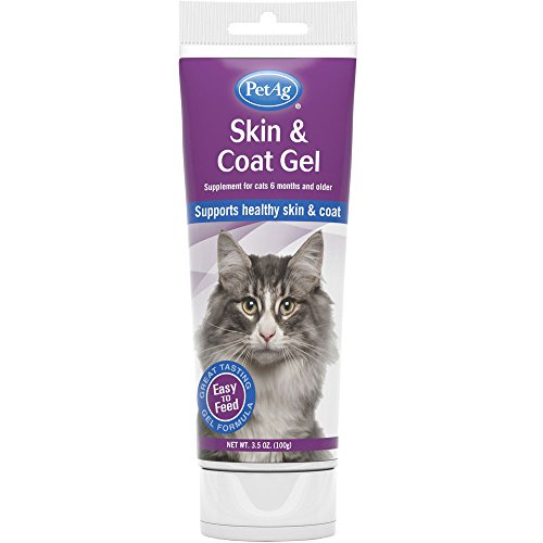 Pet Ag Skin and Coat Gel for Cats 3.5 oz