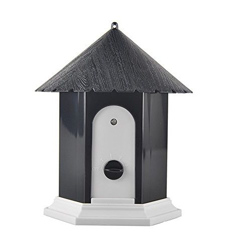 Xinxin-star Ultraschall Outdoor Hund Bark Controller Anti Barking Gerät Birdhouse Form