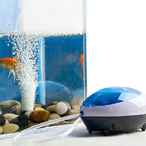samLIKE Ultra Silent High Energy Efficient Aquarium Fisch Tank Sauerstoff Luftpumpe 2W