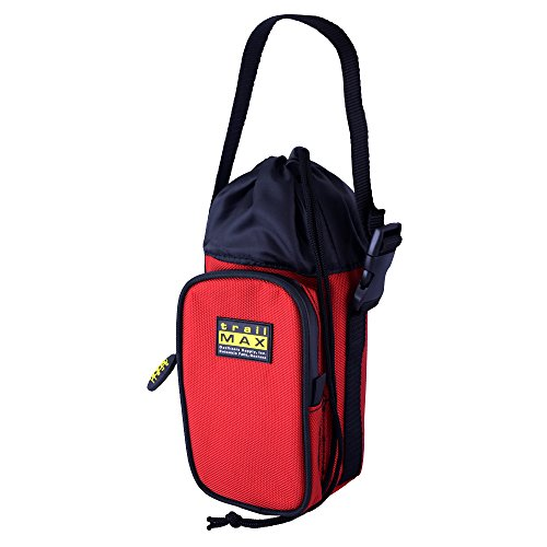 trailMAX 500 Front Water Pocket Red Satteltasche Western Packtasche Wasserflasche