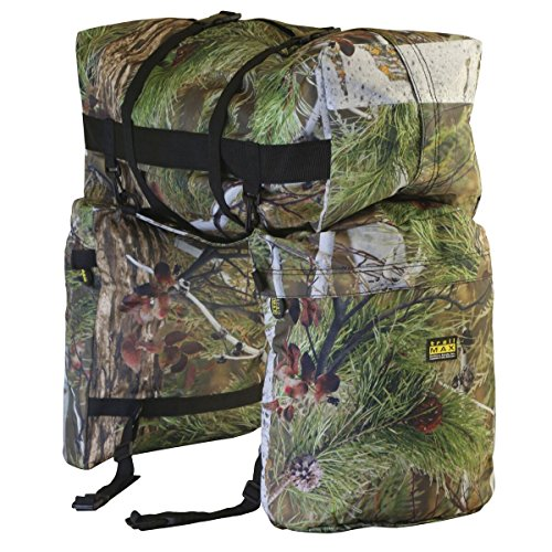 trailMAX Original Saddlebags, Satteltasche Western Packtasche, camo