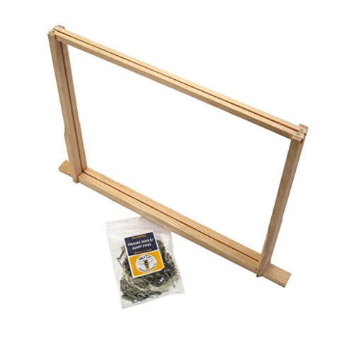 50 x National Bee Hive 14 x 12 Hoffman Frames – mit Pins