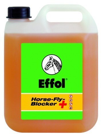 Effol Horse Fly Blocker + 2.5 litre – protects from horseflies, ticks, mosquitoes and flies. (Effol Bremsen-Blocker +, 2,5L)