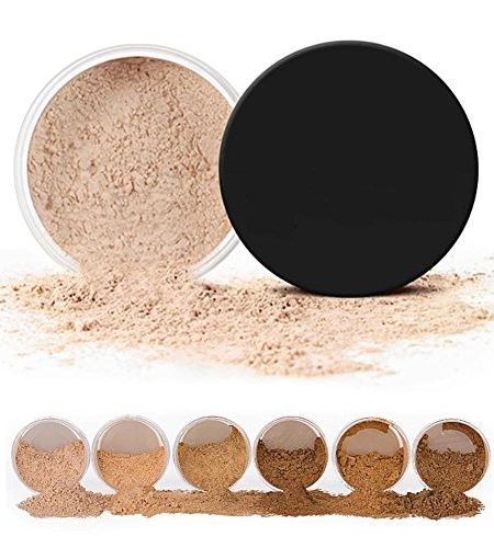 6 Colors Oil-control And Prevent Sweating Finishing Powder Convering Whitening And Moisturizing Three In One Loose Face Powder