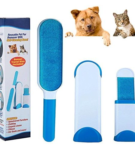 Meetlight Hurricane Pelz Zauberer Pet Fur & Lint Remover Stoff Pinsel Mit Travel Size & Selbstreinigung Base